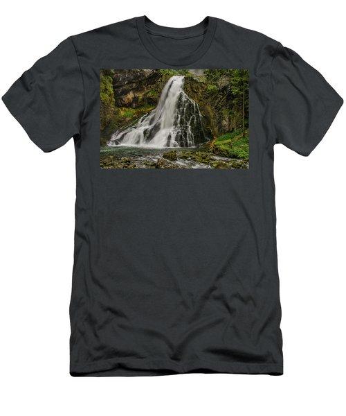 Golling Falls Men's T-Shirt (Athletic Fit)