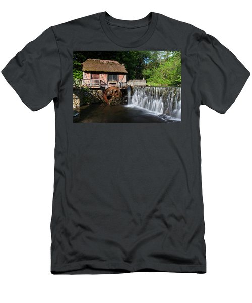 Gomez Mill In Spring #1 Men's T-Shirt (Slim Fit) by Jeff Severson