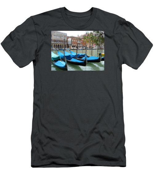 Gondolas Of Venice Men's T-Shirt (Athletic Fit)