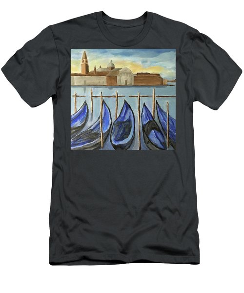Gondolas Men's T-Shirt (Athletic Fit)