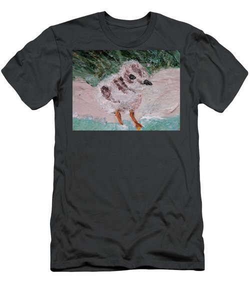 Good Harbor Piping Plover Chick #1 Men's T-Shirt (Athletic Fit)