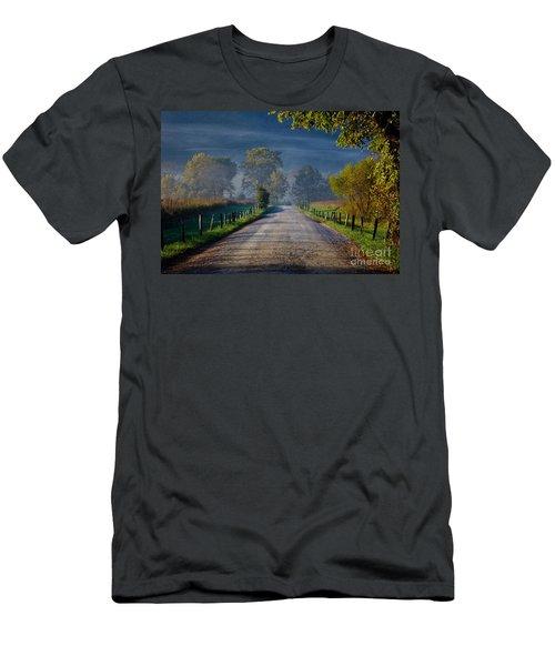 Good Morning Cades Cove 3 Men's T-Shirt (Athletic Fit)