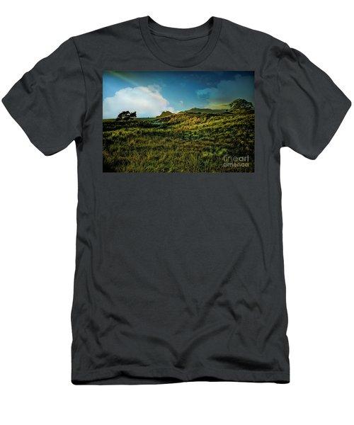 Good Morning Medlands Men's T-Shirt (Slim Fit) by Karen Lewis