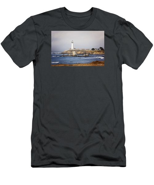 Good Morning Pigeon Point Men's T-Shirt (Athletic Fit)