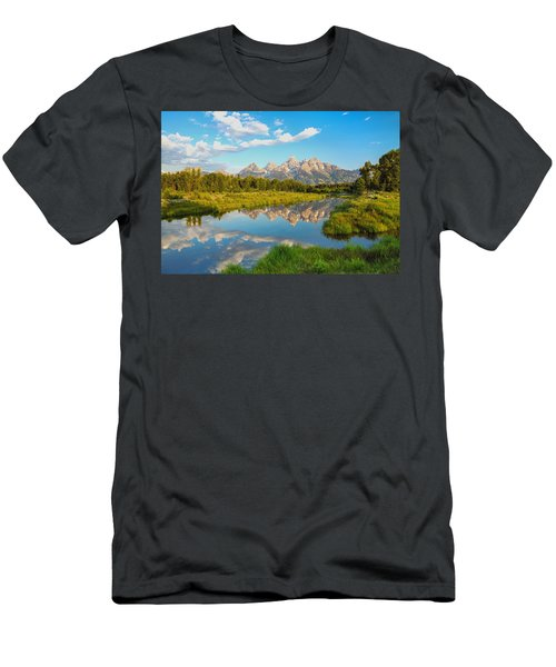 Good Morning Tetons Men's T-Shirt (Athletic Fit)