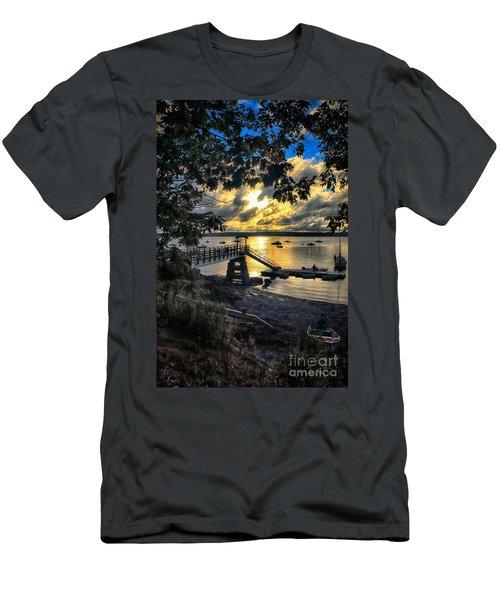 Good Night Madeleine Point Men's T-Shirt (Slim Fit) by Elizabeth Dow