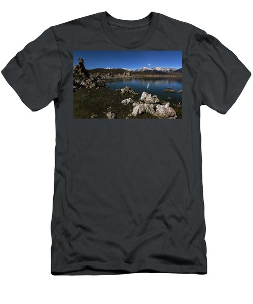 Men's T-Shirt (Athletic Fit) featuring the photograph Goodnight Venus by Tassanee Angiolillo