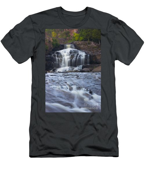 Gooseberry Falls North Shore Minnesota Men's T-Shirt (Athletic Fit)