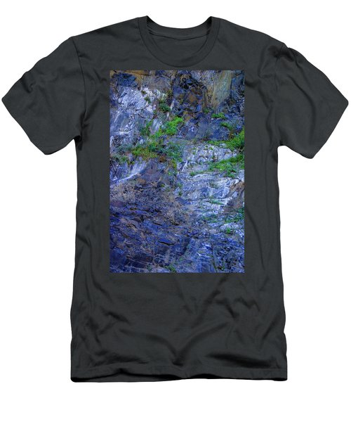 Men's T-Shirt (Slim Fit) featuring the photograph Gorge-2 by Dale Stillman