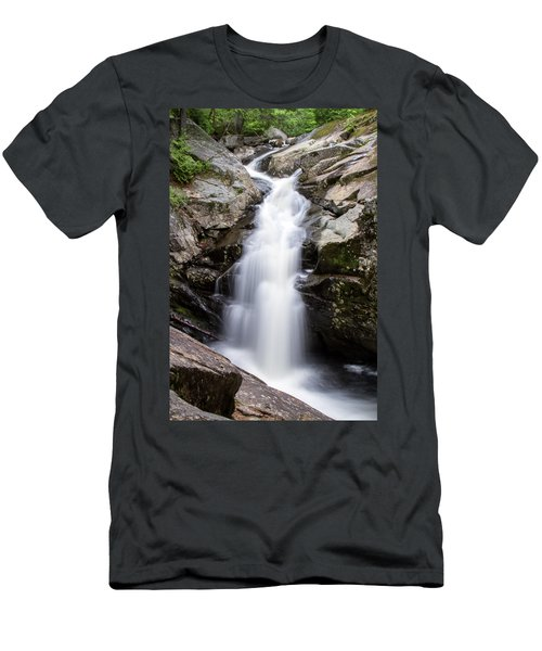 Gorge Waterfall Men's T-Shirt (Athletic Fit)