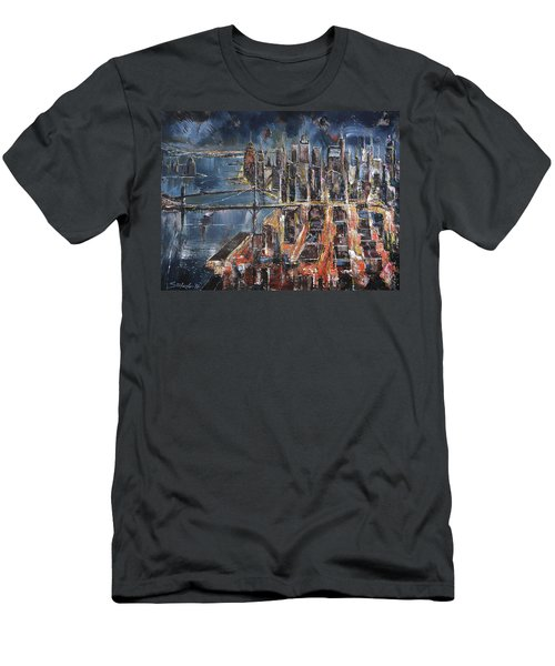Gotham City II Men's T-Shirt (Athletic Fit)
