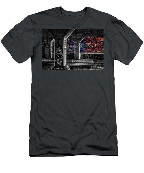 Graffiti Galore 2 Men's T-Shirt (Athletic Fit)