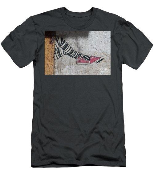 Graffiti Men's T-Shirt (Slim Fit) by Lynn England