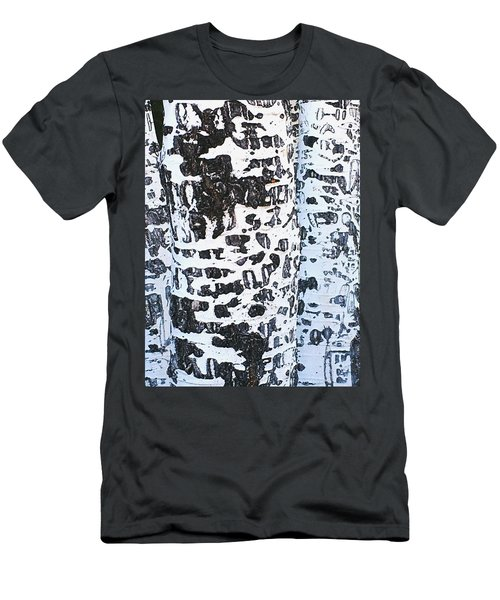 Graffitied Bark No. 1 Men's T-Shirt (Athletic Fit)