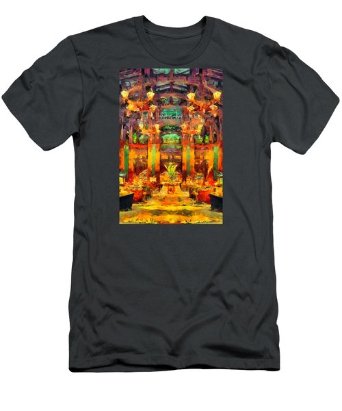 Grand Californian Resort Lobby Men's T-Shirt (Athletic Fit)