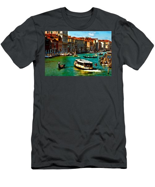 Grand Canal Daytime Men's T-Shirt (Athletic Fit)