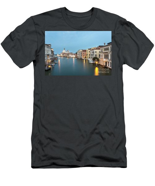 Grand Canal In Venice, Italy Men's T-Shirt (Athletic Fit)