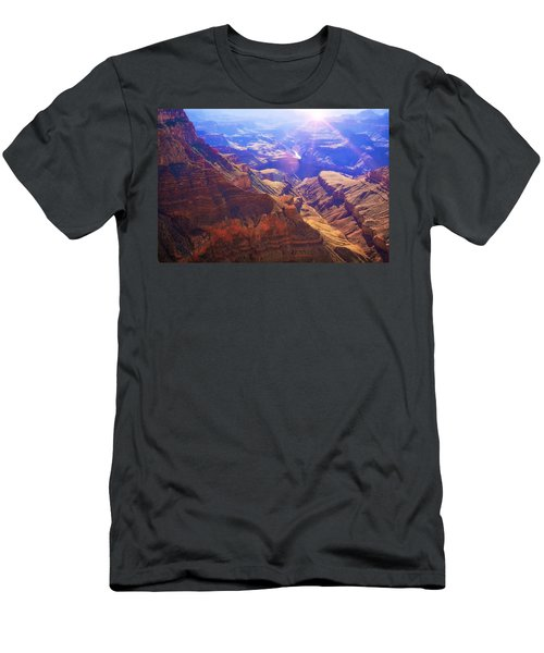 Grand Canyon Arizona 10 Men's T-Shirt (Athletic Fit)