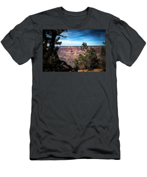 Grand Canyon, Arizona Usa Men's T-Shirt (Slim Fit) by James Bethanis