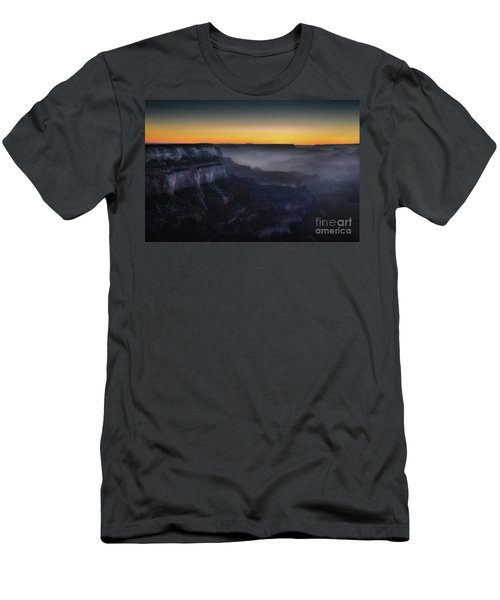 Grand Canyon At Twilight Men's T-Shirt (Slim Fit) by RicardMN Photography