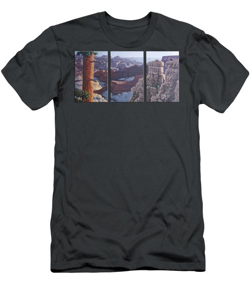 Grand Canyon Dawn Men's T-Shirt (Slim Fit) by Jim Thomas