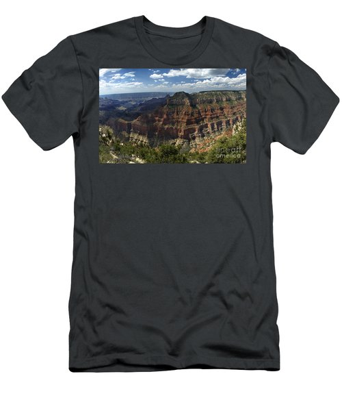 Grand Canyon North Rim Men's T-Shirt (Athletic Fit)