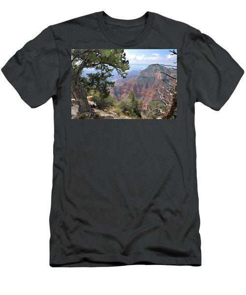Grand Canyon North Rim - Through The Trees Men's T-Shirt (Athletic Fit)