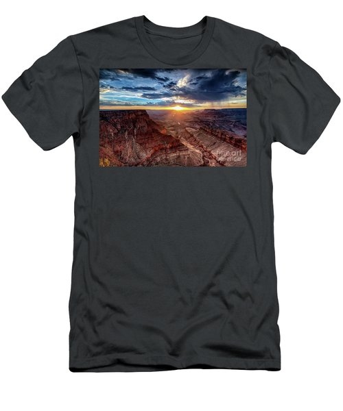 Grand Canyon Sunburst Men's T-Shirt (Athletic Fit)