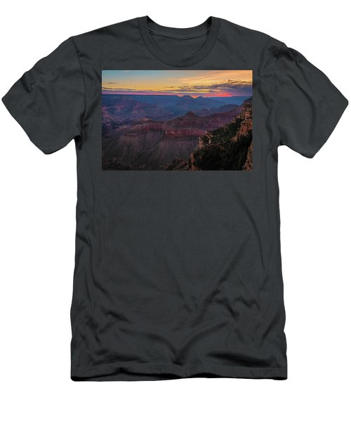 Grand Canyon Sunrise Men's T-Shirt (Athletic Fit)