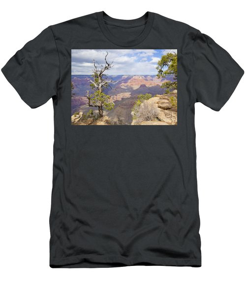 Men's T-Shirt (Slim Fit) featuring the photograph Grand Canyon View by Chris Dutton