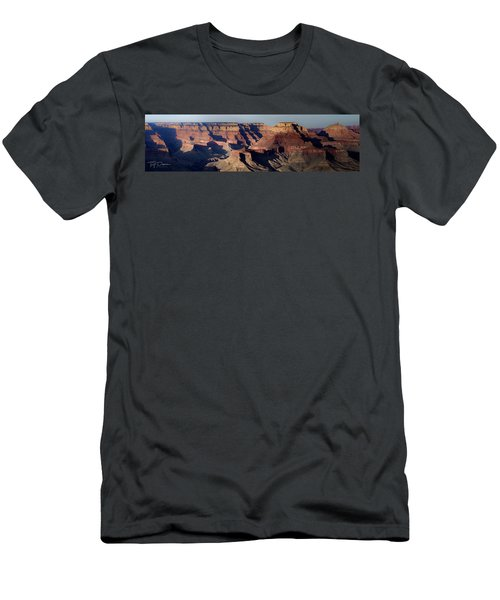 Grand Canyon Wide Men's T-Shirt (Athletic Fit)