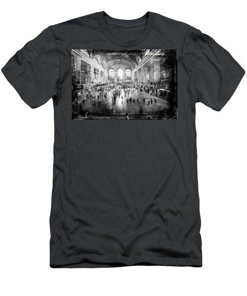 Grand Central Terminal Men's T-Shirt (Athletic Fit)
