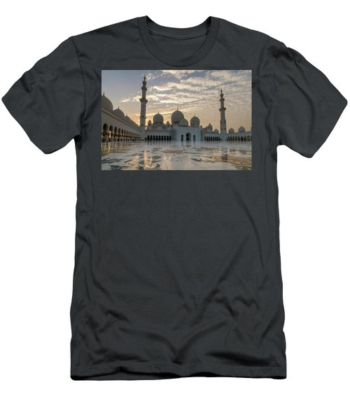 Grand Mosque Sunset Men's T-Shirt (Athletic Fit)