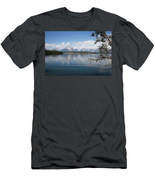 Grand Teton Range Men's T-Shirt (Athletic Fit)
