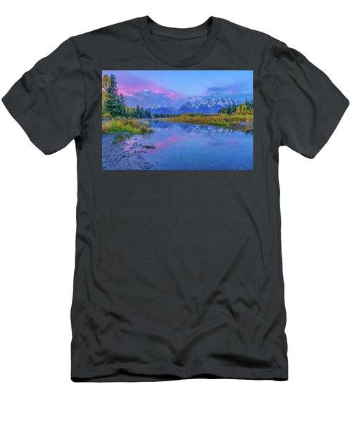 Grand Teton Sunrise Men's T-Shirt (Athletic Fit)
