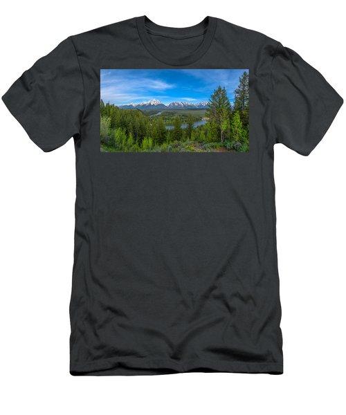 Grand Teton Vista Men's T-Shirt (Athletic Fit)