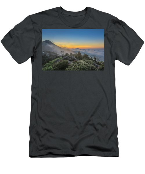 Grandfather Mountain Sunrise Men's T-Shirt (Athletic Fit)