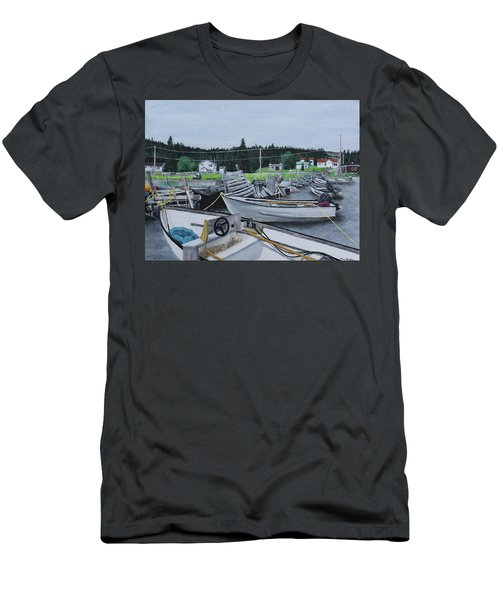 Grandfathers Wharf Men's T-Shirt (Athletic Fit)