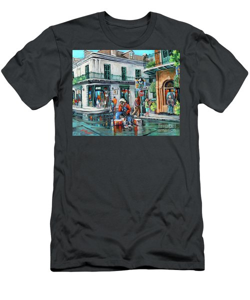 Grandpas Corner Men's T-Shirt (Athletic Fit)