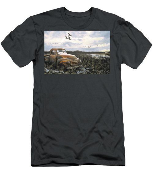 Grandpa's Old Truck Men's T-Shirt (Athletic Fit)