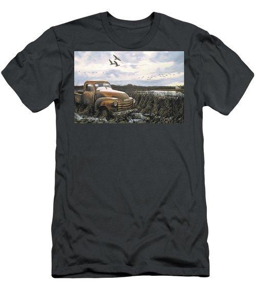 Grandpa's Old Truck Men's T-Shirt (Athletic Fit)