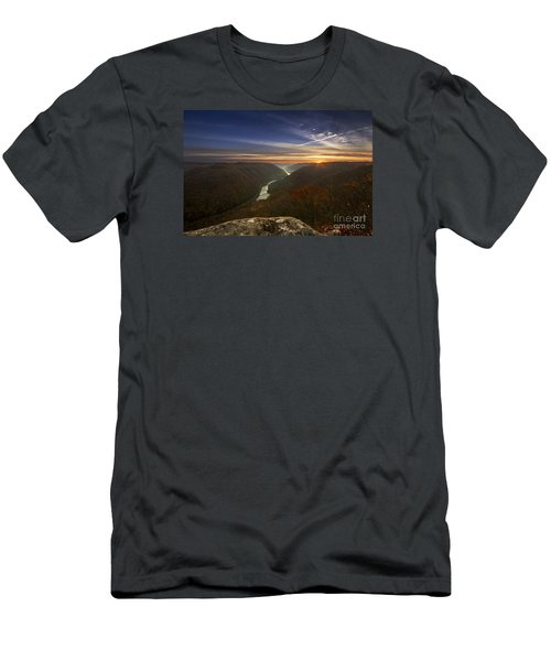 Grandview Sunrise Men's T-Shirt (Athletic Fit)