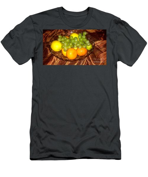 Grapes, Lemons, Mandarins And Lime  Men's T-Shirt (Athletic Fit)