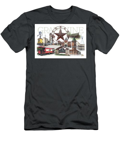 Grapevine Texas Men's T-Shirt (Athletic Fit)