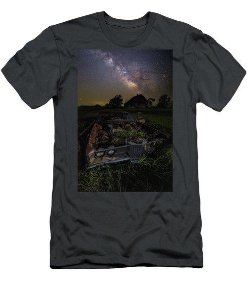 Grass Motor  Men's T-Shirt (Athletic Fit)