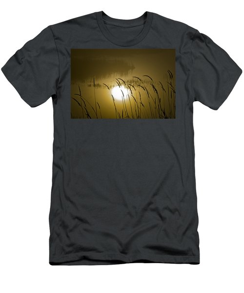 Grass Silhouettes Men's T-Shirt (Athletic Fit)