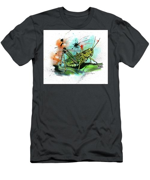 Grasshopper Men's T-Shirt (Athletic Fit)