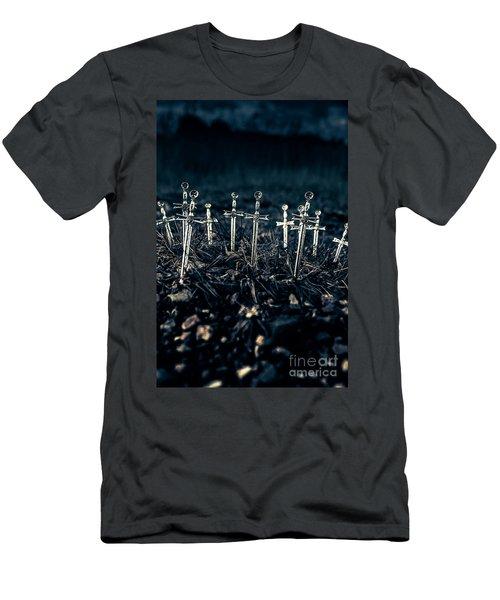 Gravely Battlefield Men's T-Shirt (Athletic Fit)