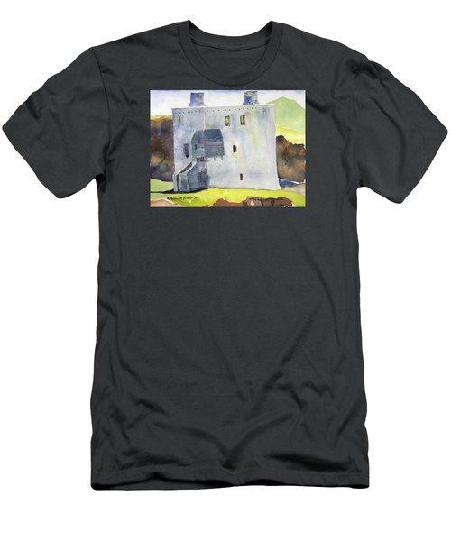 Gray Castle Men's T-Shirt (Athletic Fit)