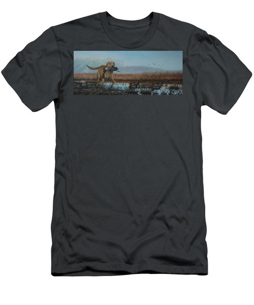 Gray Day Mallards Men's T-Shirt (Athletic Fit)